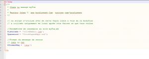 myAPIFox - fichier de configuration