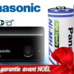 Profitez d'une remise allant Jusqu'à -87% sur les piles et accus Panasonic, en vous parrainant vous aurez un remise de 10€ sur votre première commande