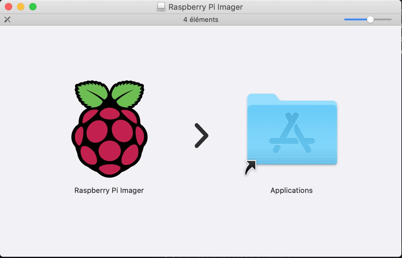 Ajouter Imager aux Applications